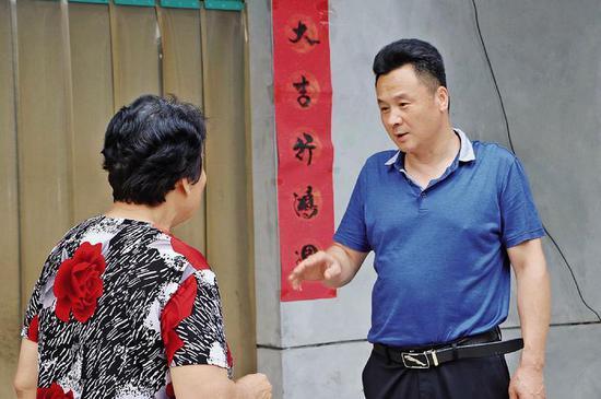 西安高新区杜平:尽我所能让贫困户有获得感幸福感