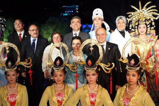 2009年土耳其总统阿卜杜拉观看演出