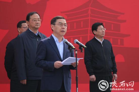 西安市长上官吉庆讲话