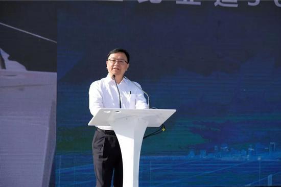 西商总会会长、比亚迪股份有限公司董事局主席兼总裁 王传福致辞