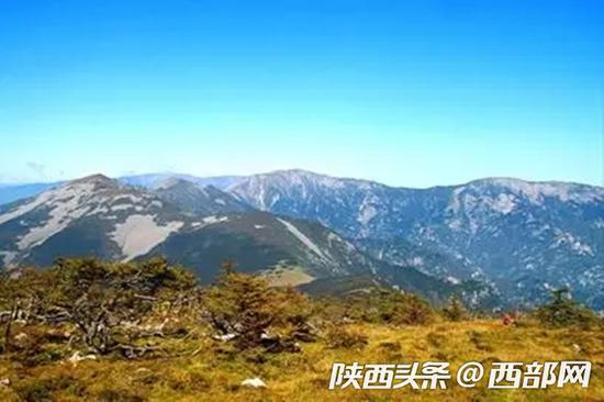 太白山优美的自然风景。