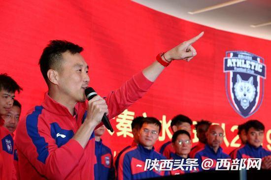 队长杨昊发表新赛季感言。
