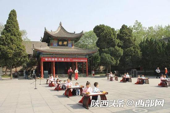 """西安碑林博物馆 """"筝约清明 共度上巳""""主题教育活动"""