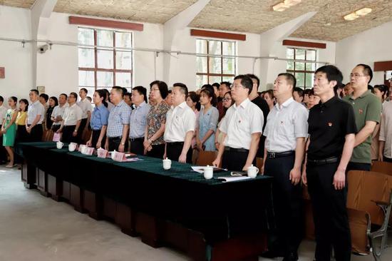 | 全体人员合唱《没有共产党就没有新中国》 |