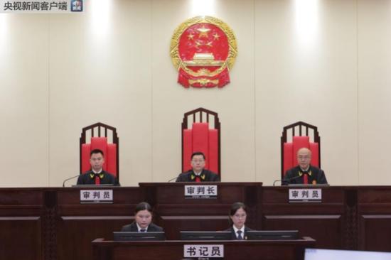 庭审结束后法庭宣布休庭,择期宣判。