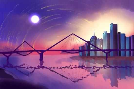 艺术创作者走进能源金贸区 通过画笔展现新变化
