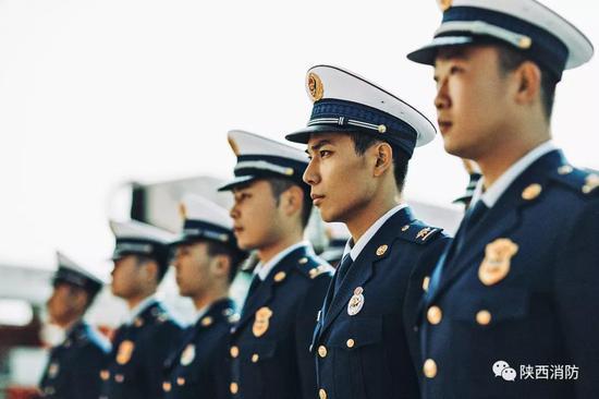 """陕西消防""""119""""宣传月启动仪式暨火焰蓝城墙跑活动开始报名"""