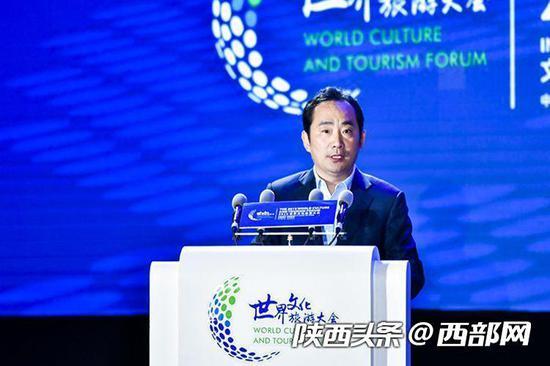 西安市市长李明远致辞。