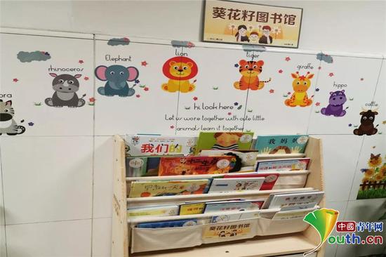向日葵儿童志愿者团队向西安市儿童医院肾脏科捐赠图书