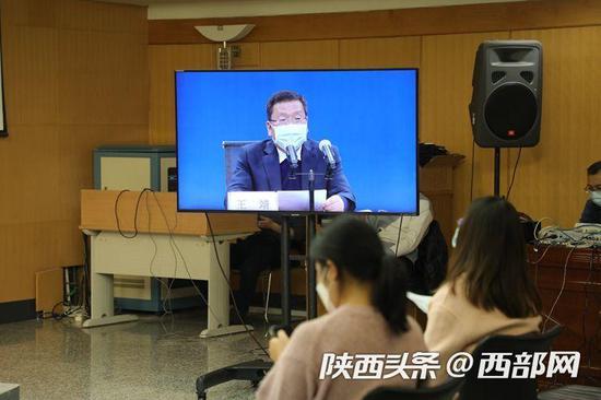 陕西省新型冠状病毒感染的肺炎疫情防控工作情况第十场新闻发布会。