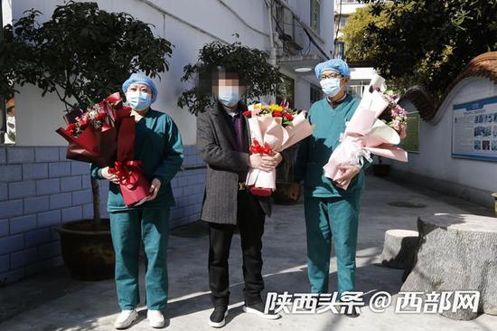 好消息!汉中市第二例新冠肺炎治愈患者出院