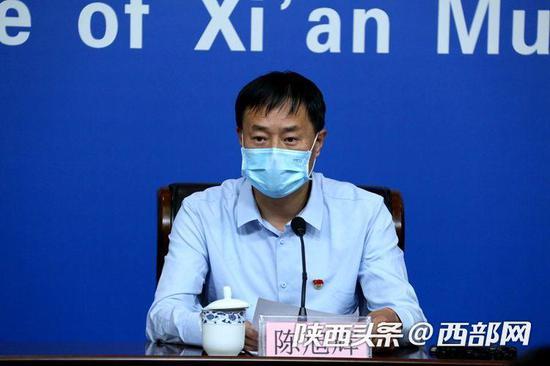 周至县委副书记、县长陈旭辉。