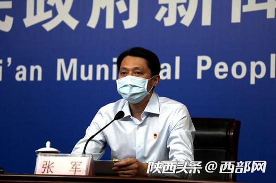 西安市医疗保障局党组书记、局长张军。