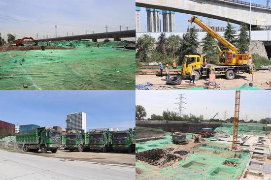 周东调研能源金贸区重点项目建设
