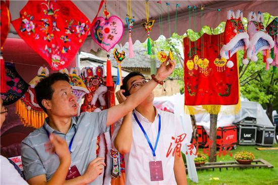 渭南澄城县农特产品亮相西安