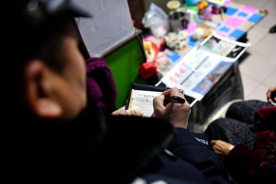 西安公安新城分局社区民警汪勇:得到群众信赖是最大的收获
