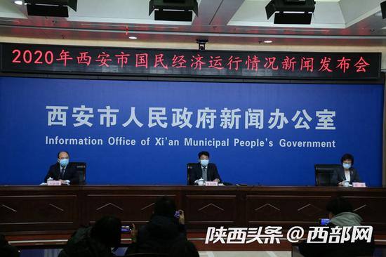 西安市召开国民经济运行情况新闻发布会。