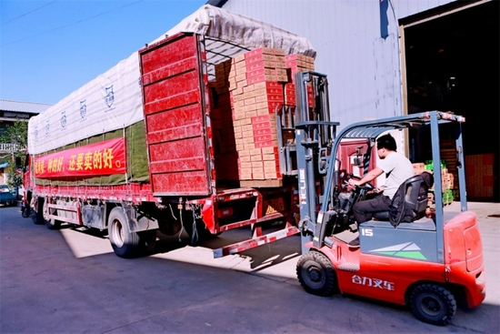 帮农助农电商赋能,周至猕猴桃销售产业走上快车道