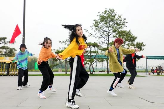 资料图:街舞表演