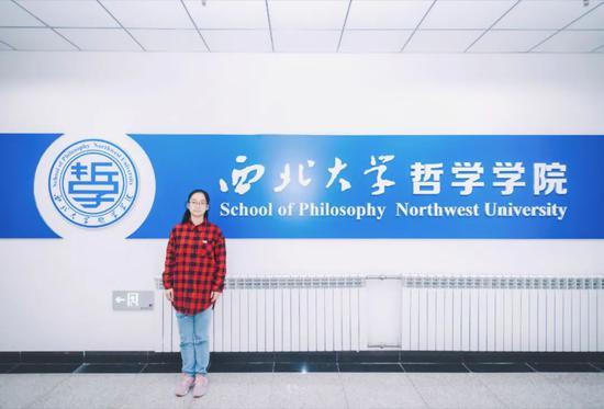 西大女孩本科直升博士 35门课满绩掌握4门外语