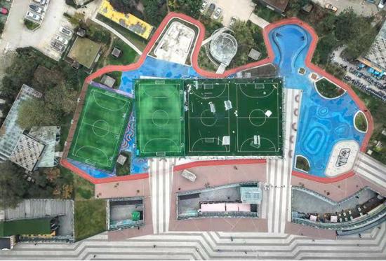 西安印象城科维奇足球主题运动公园