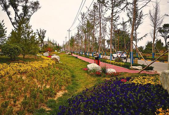 昔日贫穷落后的渭南市白水县雷牙镇尧头村变成了美丽的豆腐村。