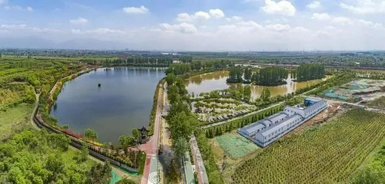 灃河儀祉湖