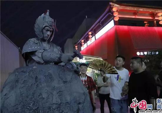 石头人(图片来自中国网)