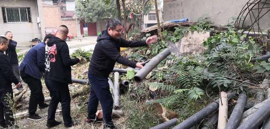 高陵区姬家街道开展农村人居环境整治提升攻坚行动