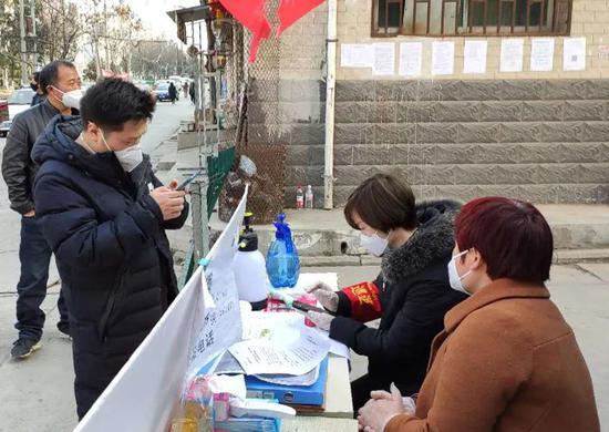 """灞桥米家崖村:发挥党员先锋模范作用 坚守疫情防控""""第一线"""""""