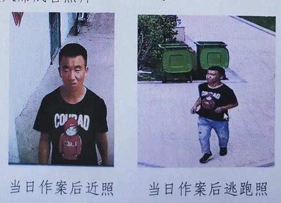 靖边90后男子暴力抢劫 潜逃20余小时后被警方抓获(图片来源:警方协查通报)
