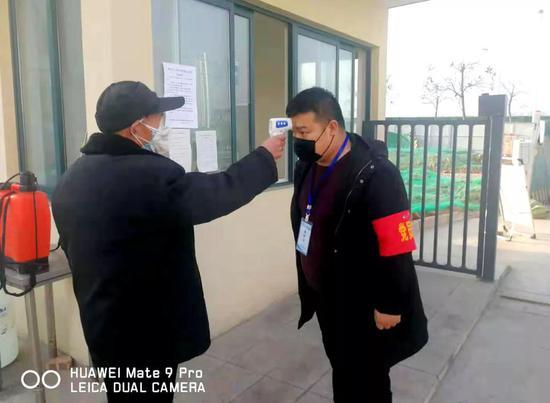 """灞桥区有序推进企业复工 确保疫情防控和经济发展""""两不误"""""""