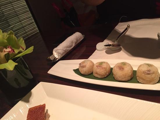 传说中的龙带玉梨香,感觉是虾饺和梨的组合!