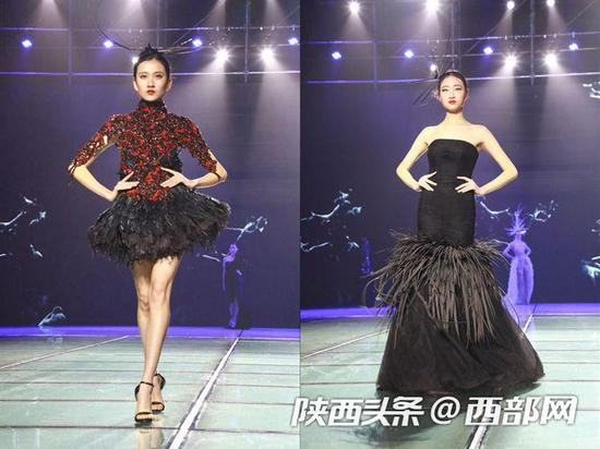 12月6日晚,2018丝绸之路国际时装周在西安开幕。