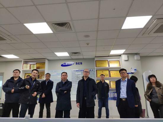 中国应急管理研究院到西安高新区调研