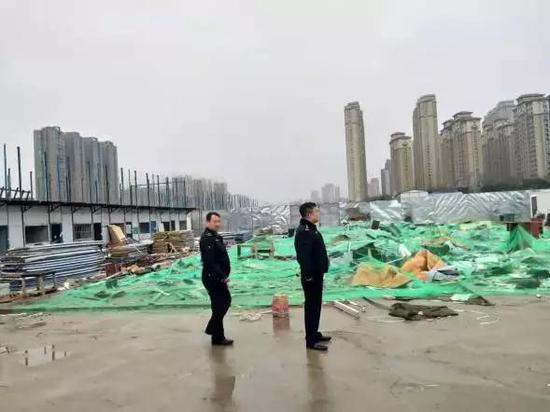 金辉环球广场违建拆除后