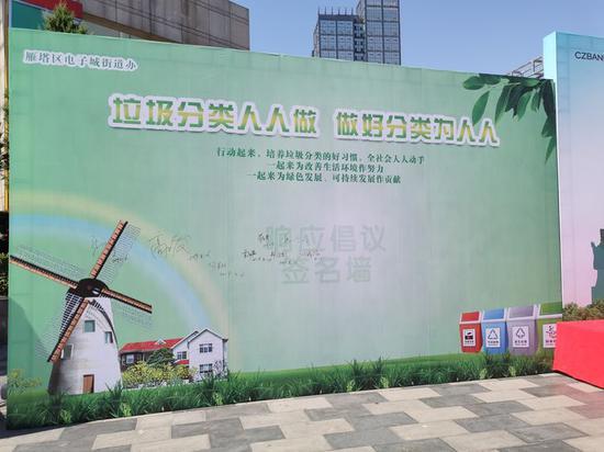 电子城街道办事处联合浙商银行西安分行举行致敬城市守护者大型公益宣传活动