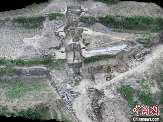 高家河宋墓。陕西省考古研究院供图