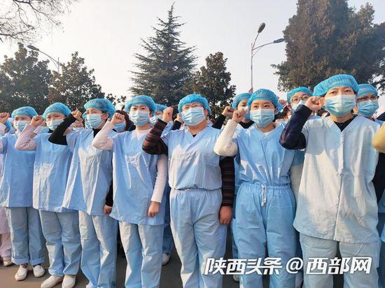 陕西省结核病防治院2月14日起正式接收新冠肺炎患者。