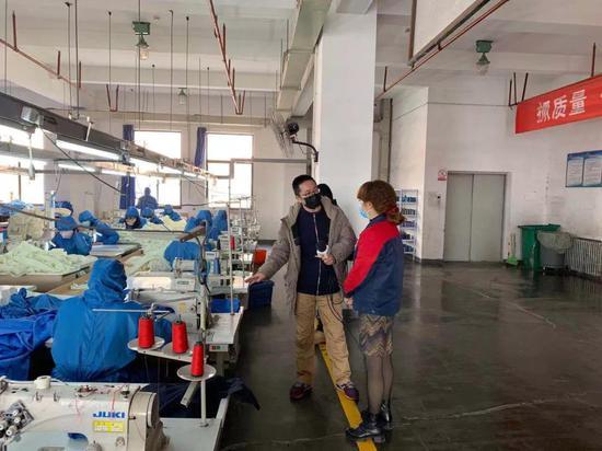 """西安灞桥区严把""""四个关口""""做好企业复工复产"""