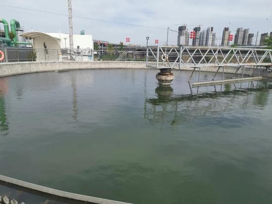泾河新城 : 改善水环境,提高居民生活环境质量