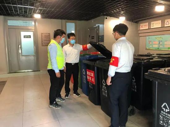 共建绿色生活 曲江新区开展垃圾分类宣传活动