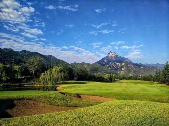 西安秦岭国际高尔夫球场