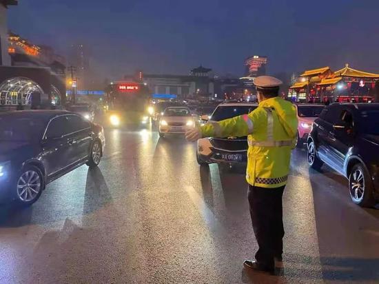 西安交警发布最新提示!近几日交通态势如何?