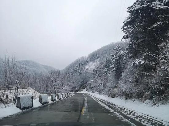 注意!受雨雪影响,这些路段仍实行交通管制