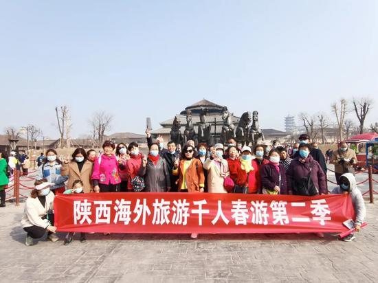 """千人植树团走进中国·周原景区,""""绿染周原·醉美家园""""第二"""