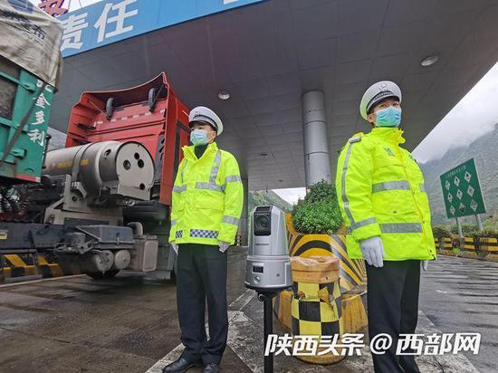 大货车司机注意:西安交警上新了!1秒钟可识别疲劳驾驶