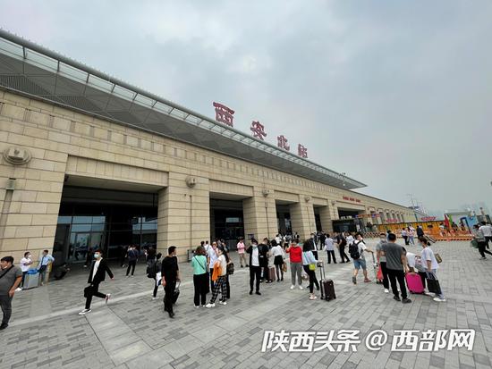 西安局集团公司今日预计发送旅客22.4万人次 加开省内客车68趟