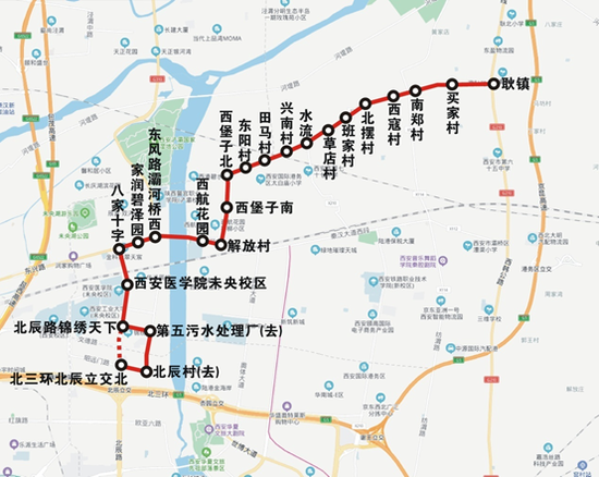 273路运行图。