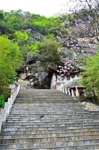 66层阶梯,66层阶梯的上面就是燕翔洞。
